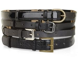 BCBG Max Azria Multi Strap Waist Belt Corset Large